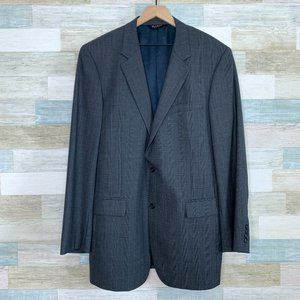 Jos A Bank Wool Sport Coat Gray 44XL